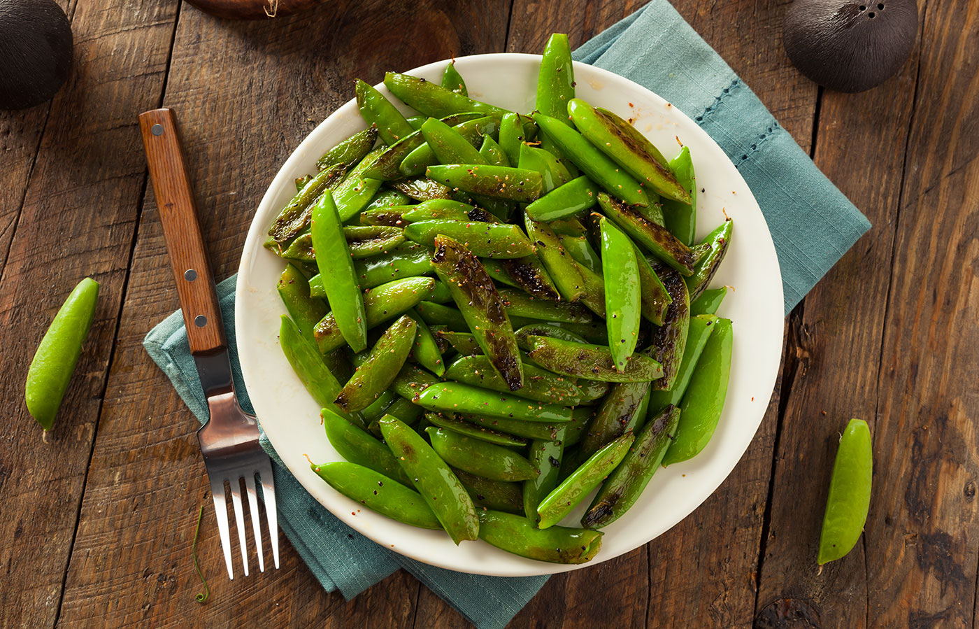 Homemade Sugar Snap Peas